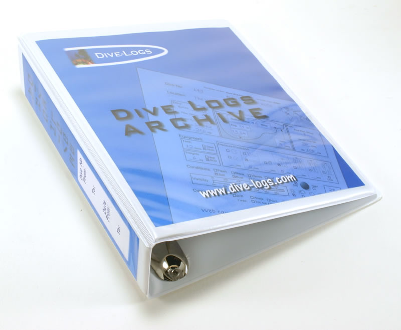 Ring Dive Log Binder